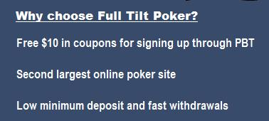 Why choose Full Tilt Poker